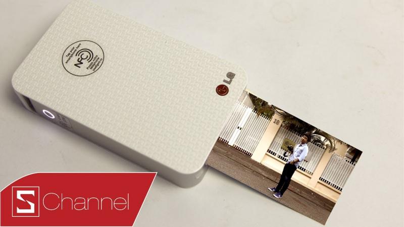 Máy in ảnh bỏ túi LG Pocket Photo