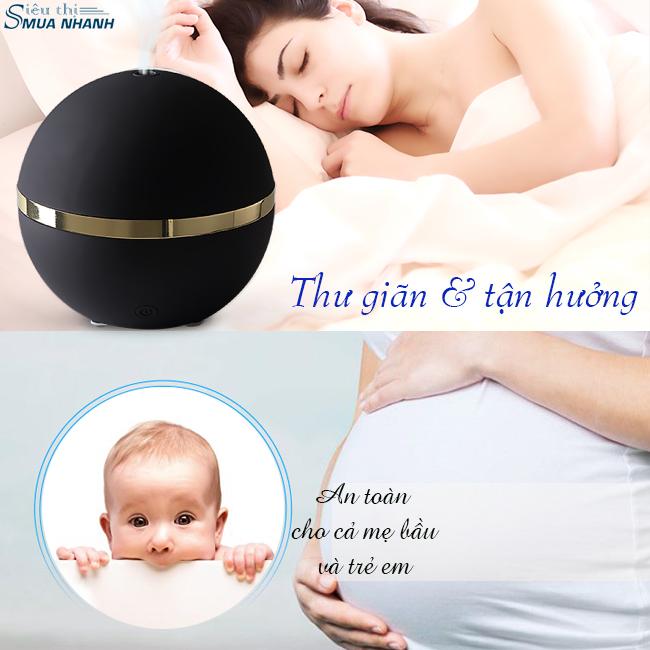 Máy khuếch tán tinh dầu Mili Lanaform LA120314 an toàn cho mẹ và bé