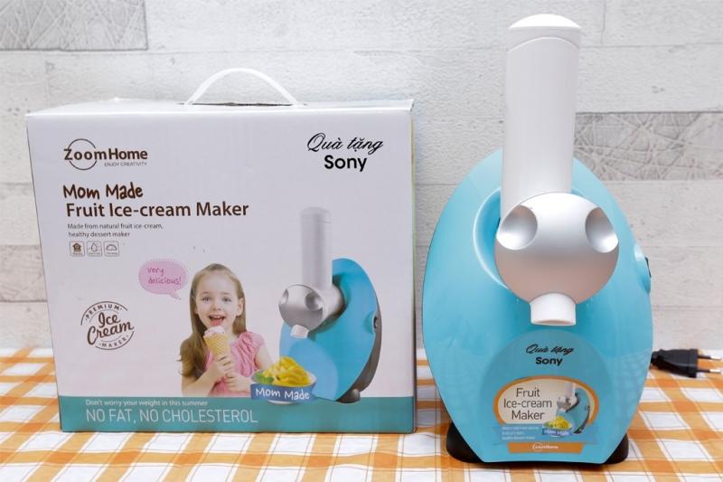 Sony Mom Made HSN-MM19 đặc biệt phù hợp để tạo ra các loại kem tươi từ trái cây