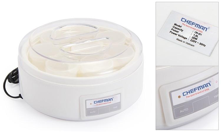 Máy làm sữa chua Chefman CM-301