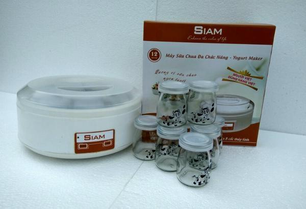 Máy làm sữa chua Siam có mẫu mã đẹp mắt