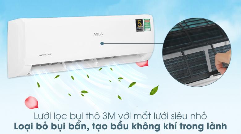 Máy lạnh Aqua Inverter 1 HP AQA-KCRV10TK