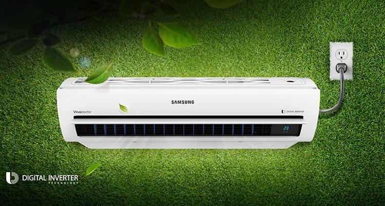 Máy Lạnh Inverter Samsung AR10KVFSCUR 1.0HP