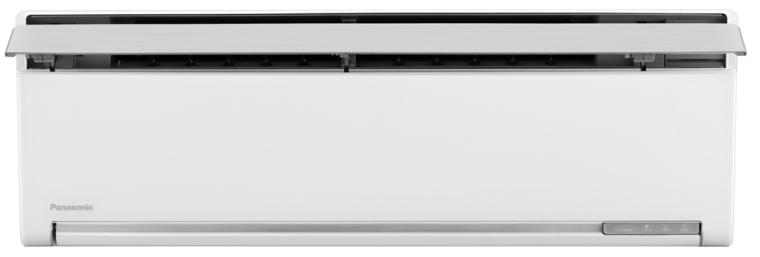 Máy lạnh Panasonic 1 HP CU/CS-VU9SKH-8 có thiết kế cánh đảo gió hướng lên trên.