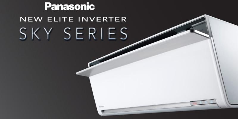 Với quạt gió quay lên trần làm cho khí lạnh được lan tỏa - Máy lạnh Panasonic 1 HP CU/CS-VU9SKH-8