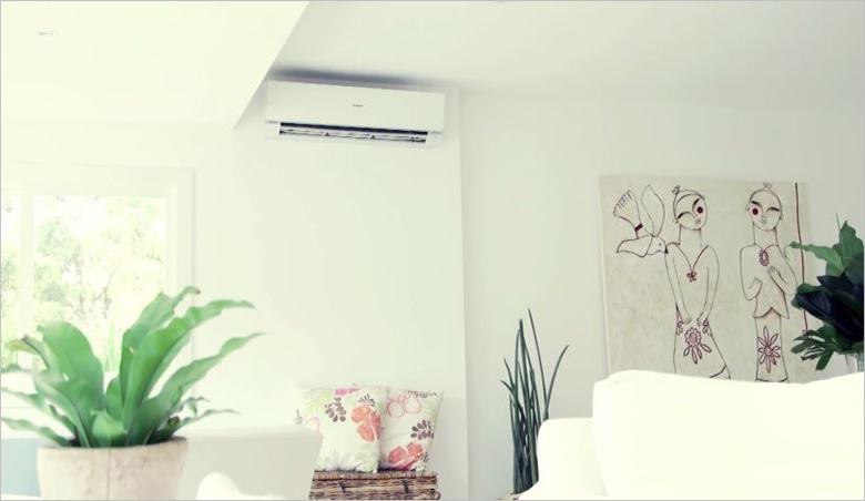 Thiết kế sang trong làm cho không gian phòng đẹp hơn - Máy lạnh Panasonic 1.5 HP CU/CS-U12SKH-8