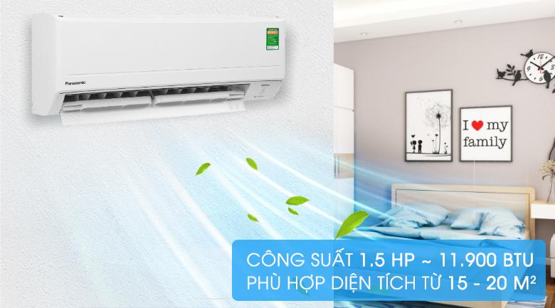Máy lạnh Panasonic Inverter 1.5 HP CU/CS-PU12WKH-8M