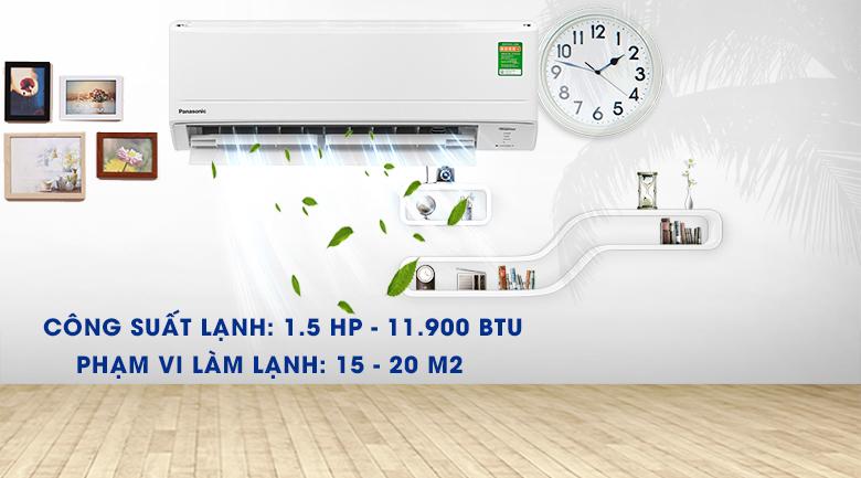 Máy lạnh Panasonic Inverter 1.5 HP CU/CS-WPU12WKH-8M