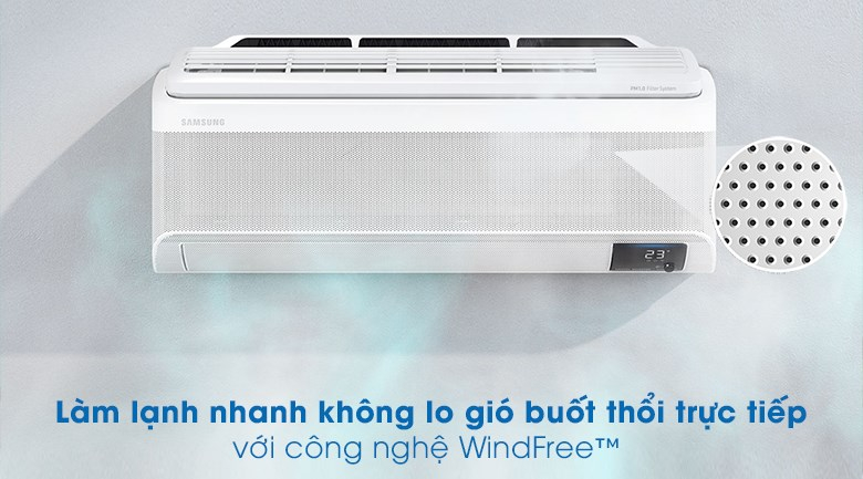 Máy lạnh Samsung Wind-Free Inverter 1.5 HP AR13TYAACWKNSV