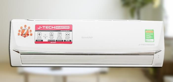 Máy lạnh Sharp Inverter 1.5 HP AH-X12UEW