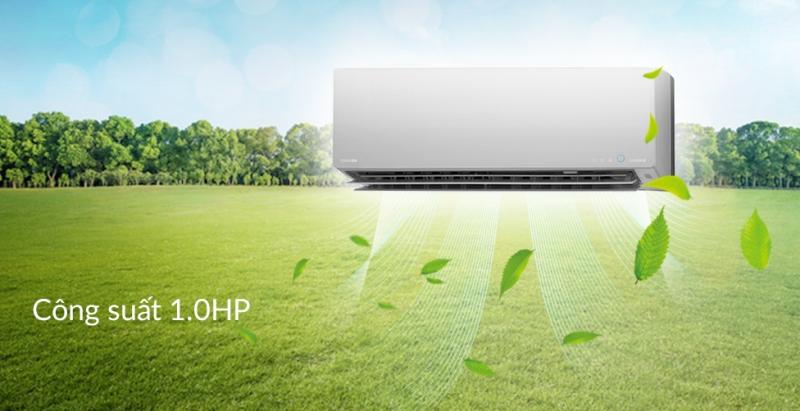 Luồng khí lạnh đa chiều 3D của dòng sản phẩm Toshiba 1 HP RAS-H10G2KCVP-V