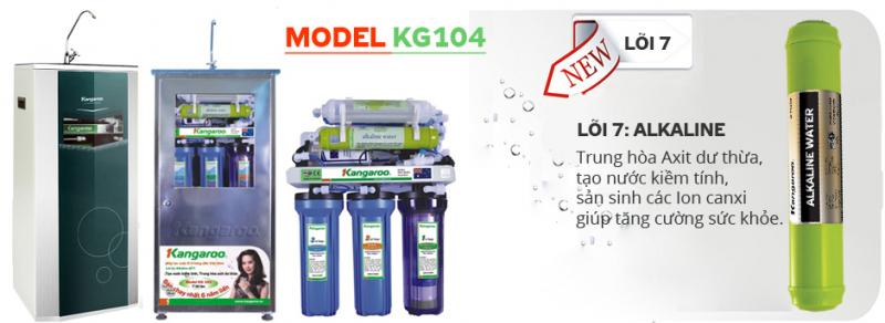 Máy lọc nước Kangaroo KG104 VTU