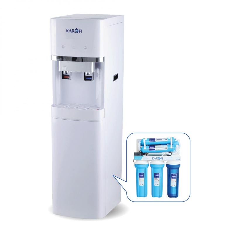Máy lọc nước nóng lạnh Karofi HC300RO:
