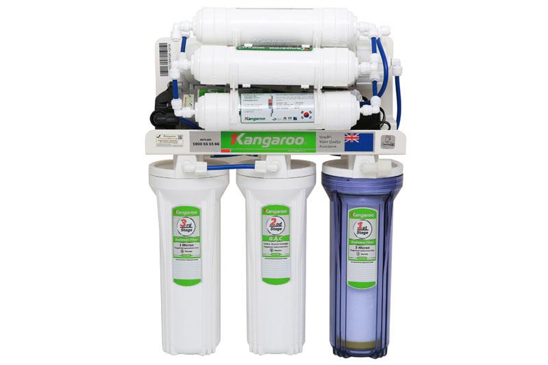 Máy lọc nước RO không vỏ Hydrogen Kangaroo KG100HQ 9 lõi