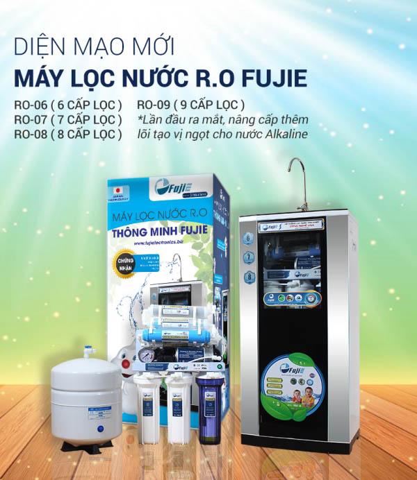 Máy lọc nước tinh khiết RO FujiE RO-07 (CAB)