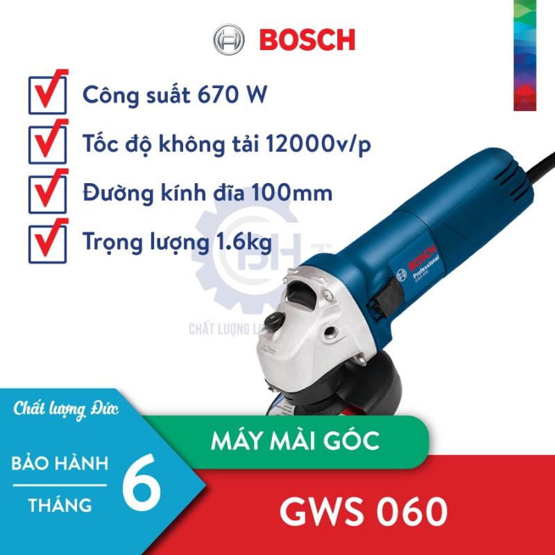 Máy mài góc Bosch GWS 060 (100mm)