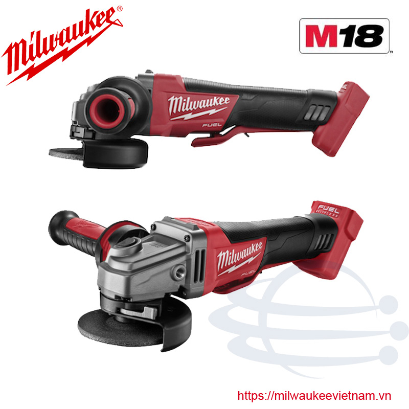 Máy mài góc Milwaukee M18 CAG100X-0X