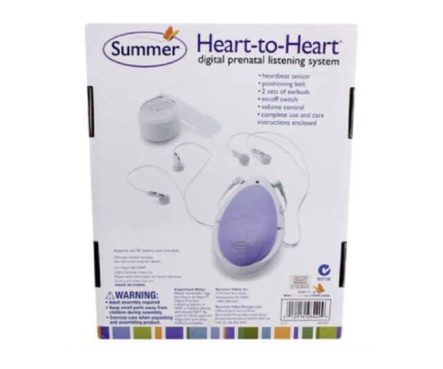 Máy nghe tim thai Summer Infant SM28420