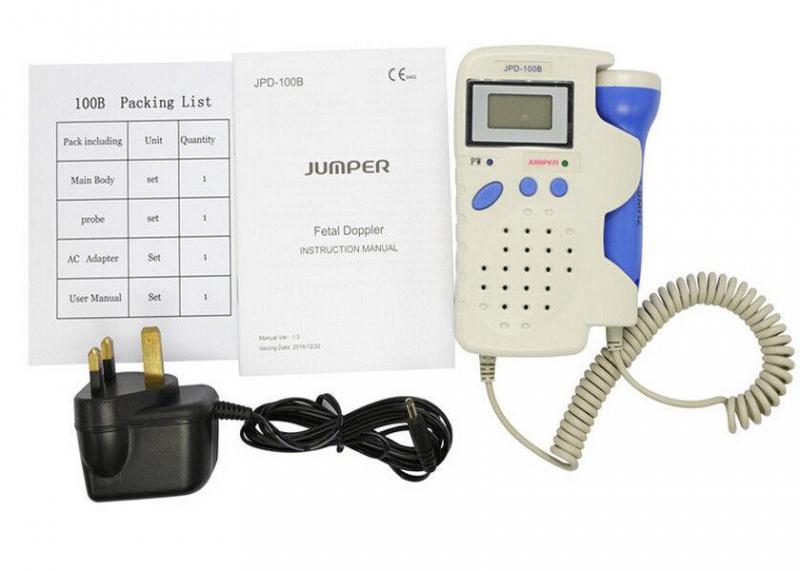 Máy Nghe Tim Thai Tại Nhà Fetal Doppler JPD100B Plus