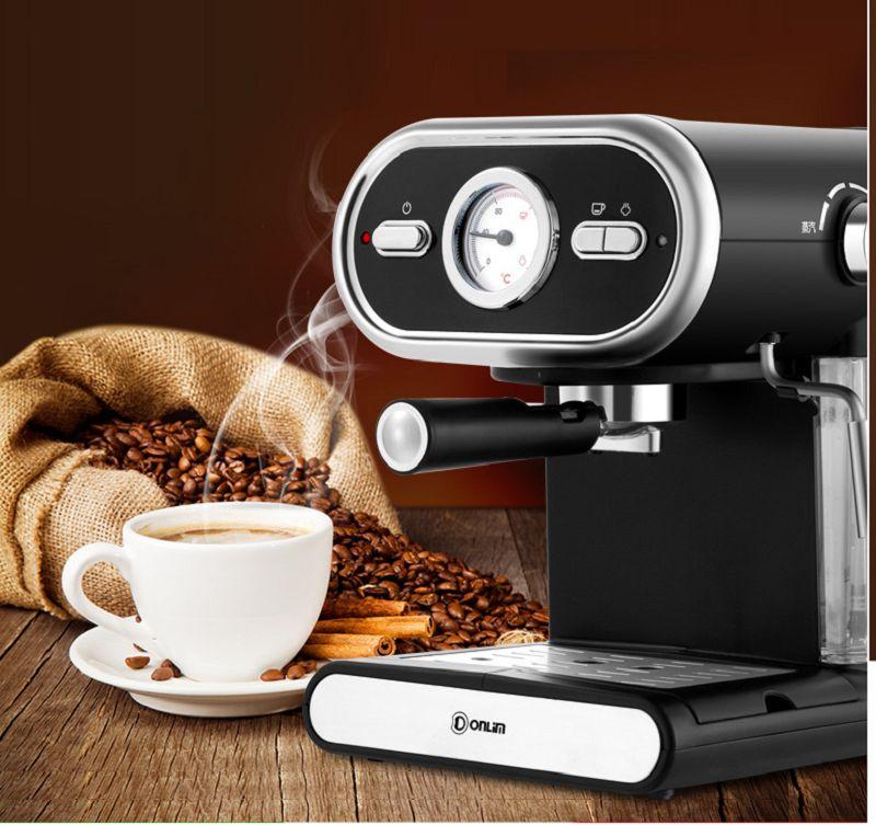 Máy pha cafe espresso Dolim DL-KF5002 cho bạn những li cà phê thơm ngon