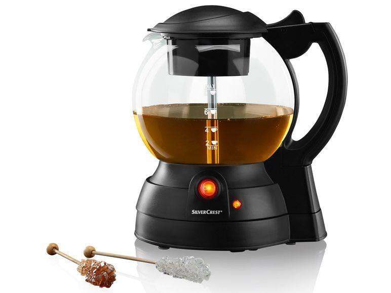 Máy pha trà tự động và giữ nhiệt Silvercrest