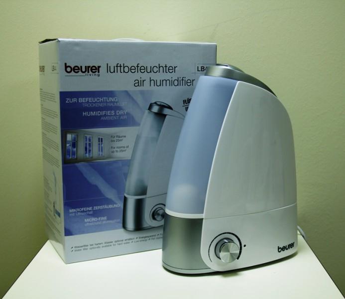 Máy phun ẩm Beurer LB44 - bình chứa 2.8 lít cho phòng 25m vuông
