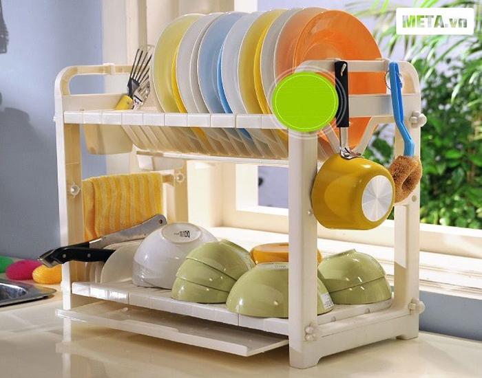 Máy sấy bát đĩa điện tử Cuckoo CDD-9045 cho bát đĩa khô ráo và an toàn