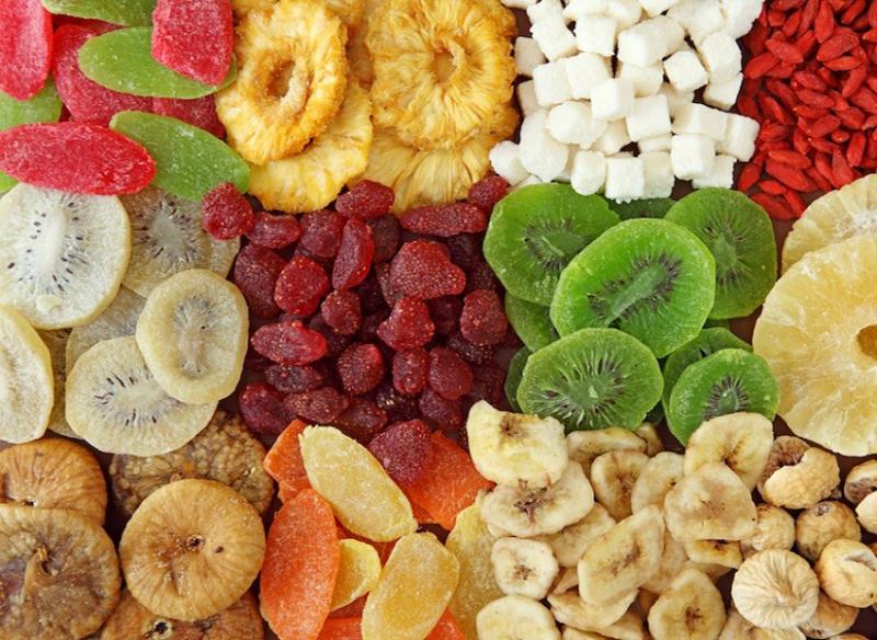 Máy sấy hoa quả, thực phẩm Hasu 230B có thể sấy nhiều loại thực phẩm cùng lúc
