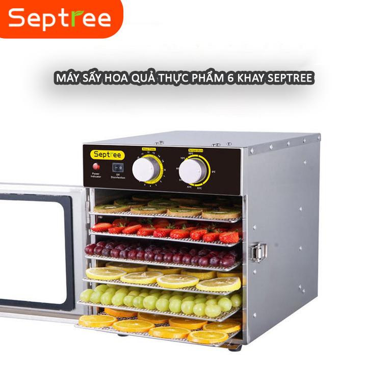 Máy sấy khô thực phẩm Septree 6 khay