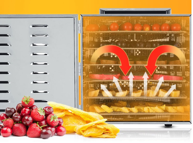 Máy sấy thực phẩm mini dành cho gia đình 6 khay UCK
