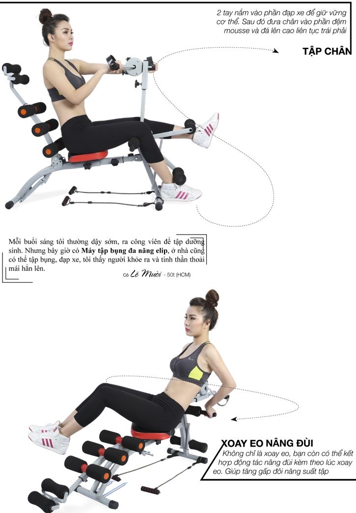 Hình ảnh máy tập bụng đa năng Elips Body