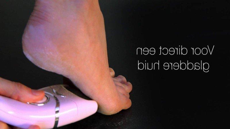 Sản phẩm máy tẩy da chết gót chân Rio PEDI2 có tốc độ xử lý với mức độ thô ráp của da, dễ dàng được sử dụng tại nhà chỉ sau 60s là máy đã đánh bay các vùng da thô cứng,