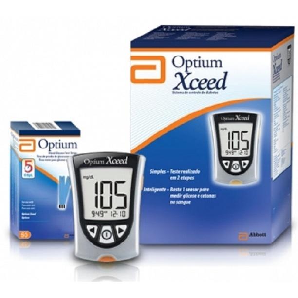Máy thử đường huyết Optium Xceed