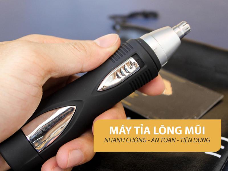 Máy tỉa lông mũi Flyco FS7805VN là trợ thủ đắc lực giúp nam giới cắt tỉa lông mũi tại nhà hiệu quả, mang lại sự tự tin và bảnh bao hơn mỗi khi giao tiếp