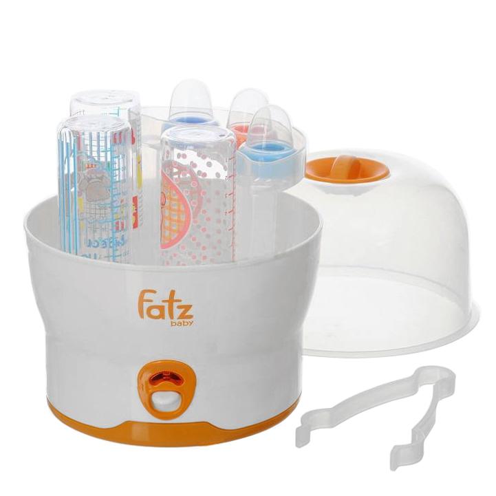 Máy tiệt trùng bình sữa Fatzbaby FB4019SL: tiệt trùng cùng lúc 6 bình sữa chỉ với 8 phút