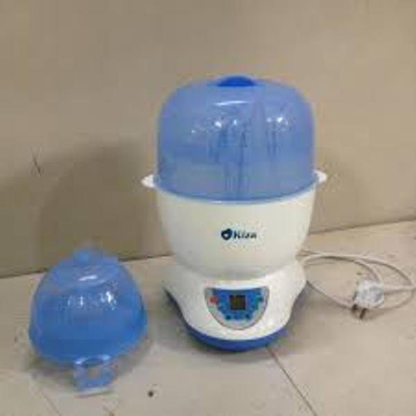 Máy tiệt trùng Kiza Electric KZ201 tiệt trùng hiệu quả cùng lúc 6 bình sữa