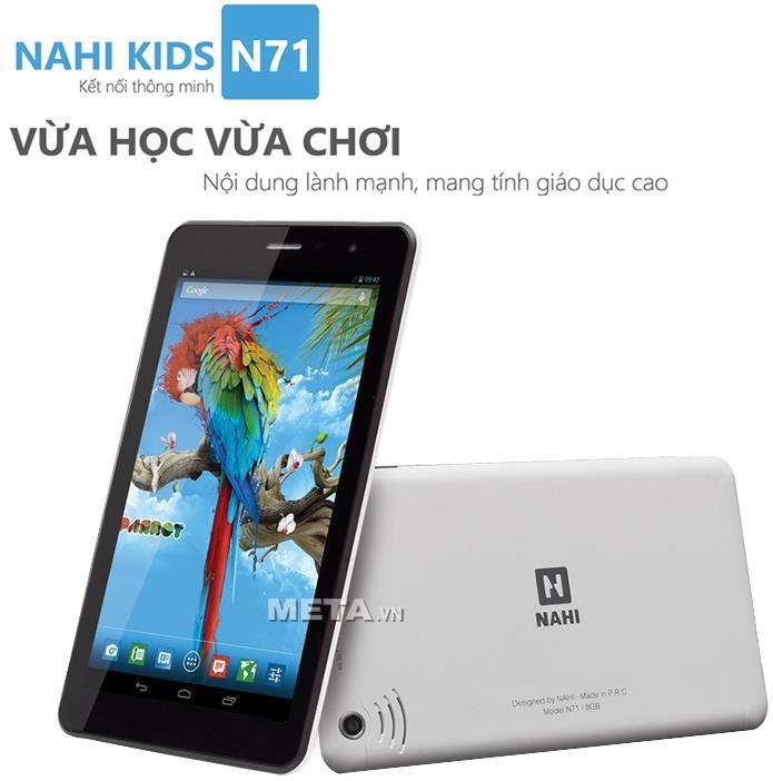 Máy tính bảng cho trẻ em NAHI Kids N71