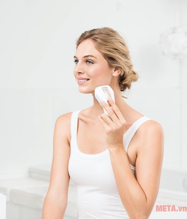 Máy triệt lông Beurer Pure Skin Pro IPL 5500 triệt lông cơ thể hiệu quả hàng đầu