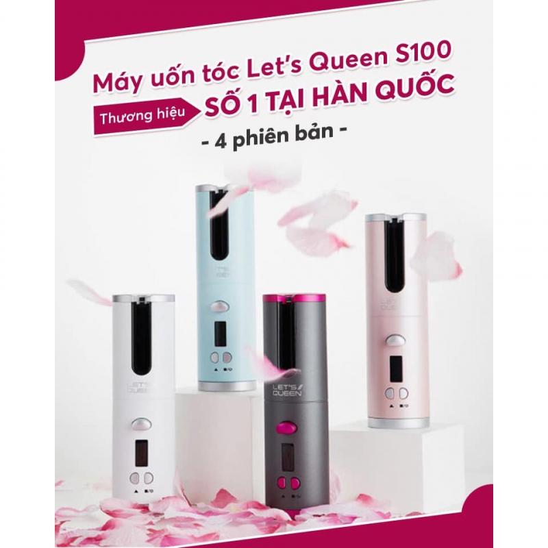 Máy uốn tóc Let's Queen Hàn Quốc