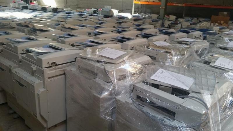 Kho máy photocopy tại Máy văn phòng Thiên Phúc