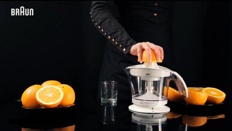 Máy vắt nước cam braun mpz-9 cho ra những ly cam vắt tươi ngon nhiều dinh dưỡng trong thời gian ngắn nhất nhưng đồng thời máy cũng vận hành rất êm ái không gây ồn nhiều cho quá trình sử dụng máy.