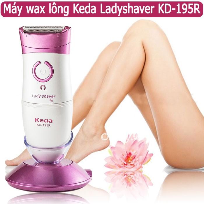 Máy wax lông Keda Ladyshaver KD-195R: