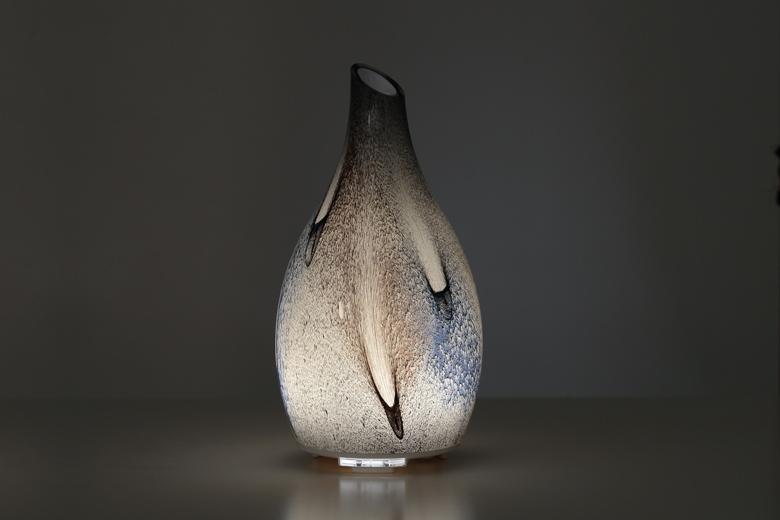 Máy xông tinh dầu cao cấp lọ thủy tinh nghệ thuật