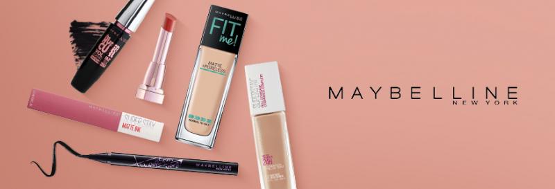 Maybelline rất đa dạng sản phẩm cho bạn lựa chọn.