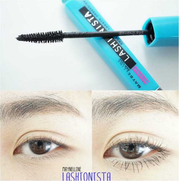 Maybelline Lashionista Waterproof.