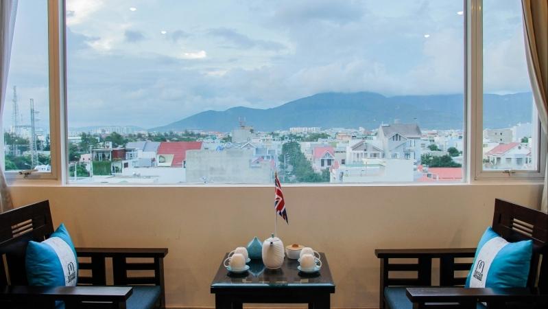 View nhìn ra ở khách sạn