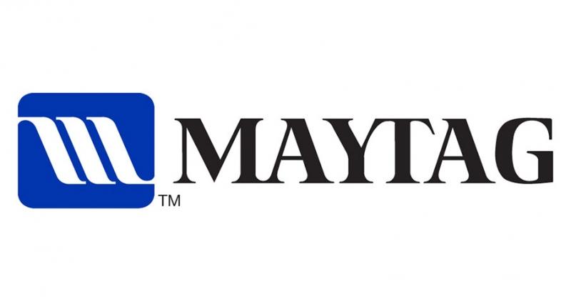 Logo thương hiệu máy giặt Maytag