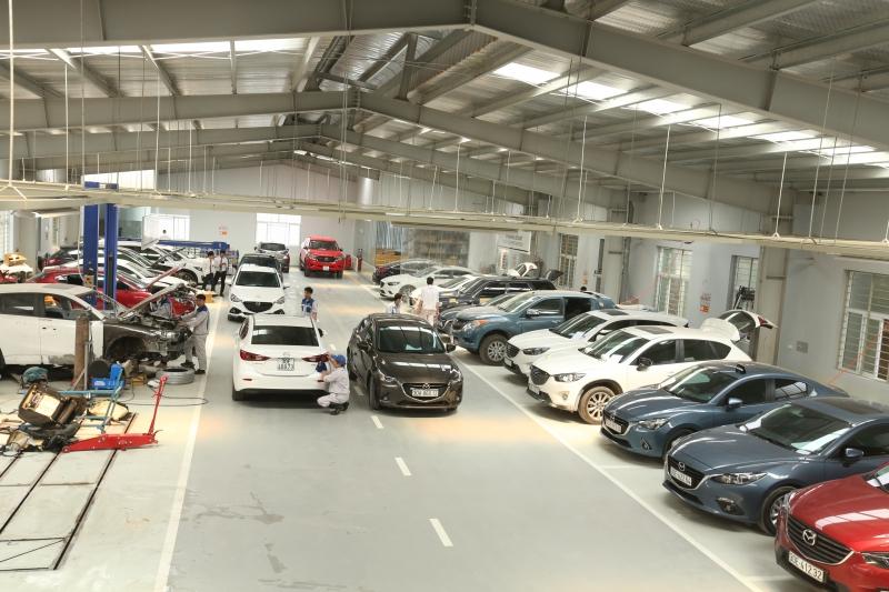 Hình ảnh một số mẫu xe tại Mazda Nguyễn Trãi.