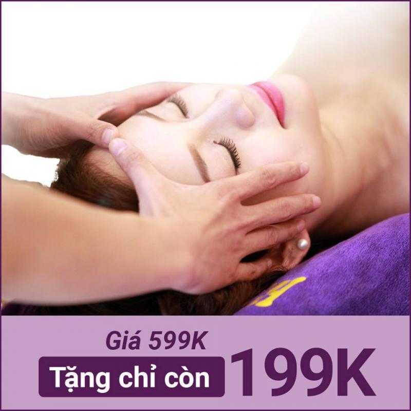 Massage mặt và toàn thân cho mẹ sau sinh