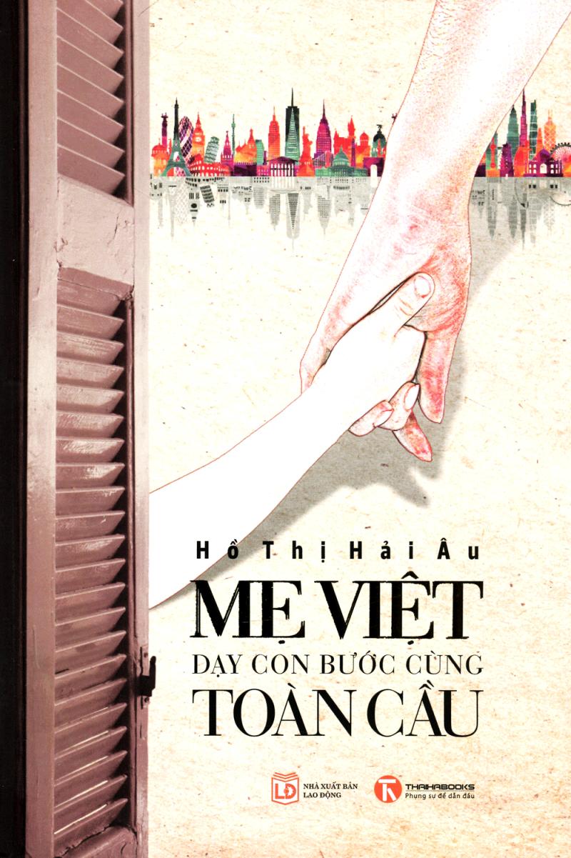 Bìa cuốn sách mẹ Việt cùng con bước cùng toàn cầu